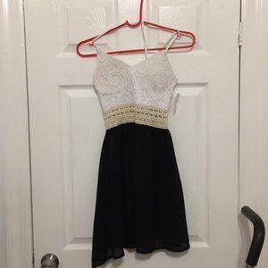 White back dress juniors girl